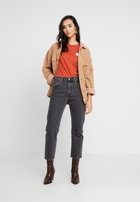 Levi's® - 501® CROP - Jeans straight leg - cabo fade - 1