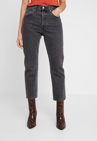 Levi's® - 501® CROP - Straight leg jeans - cabo fade - 0
