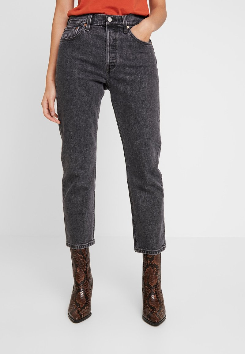 Levi's® - 501® CROP - Jeans straight leg - cabo fade
