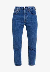 Levi's® - 501® CROP - Jeansy Straight Leg - jive stonewash - 4