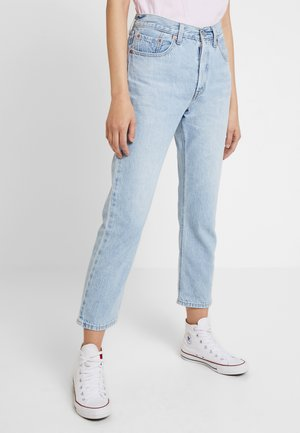 501® CROP - Jeansy Straight Leg - montgomery baked