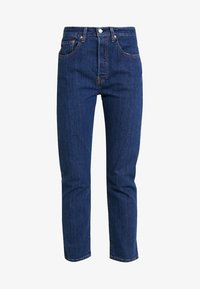 Levi's® - 501® CROP - Jeans straight leg - shot in the dark - 3