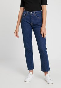 Levi's® - 501® CROP - Jeans straight leg - shot in the dark - 0