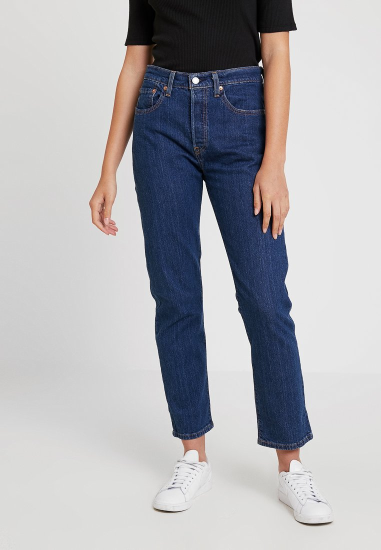 Levi's® - 501® CROP - Jeans straight leg - shot in the dark