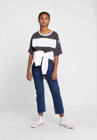 Levi's® - 501® CROP - Jeansy Straight Leg - charleston vision - 1