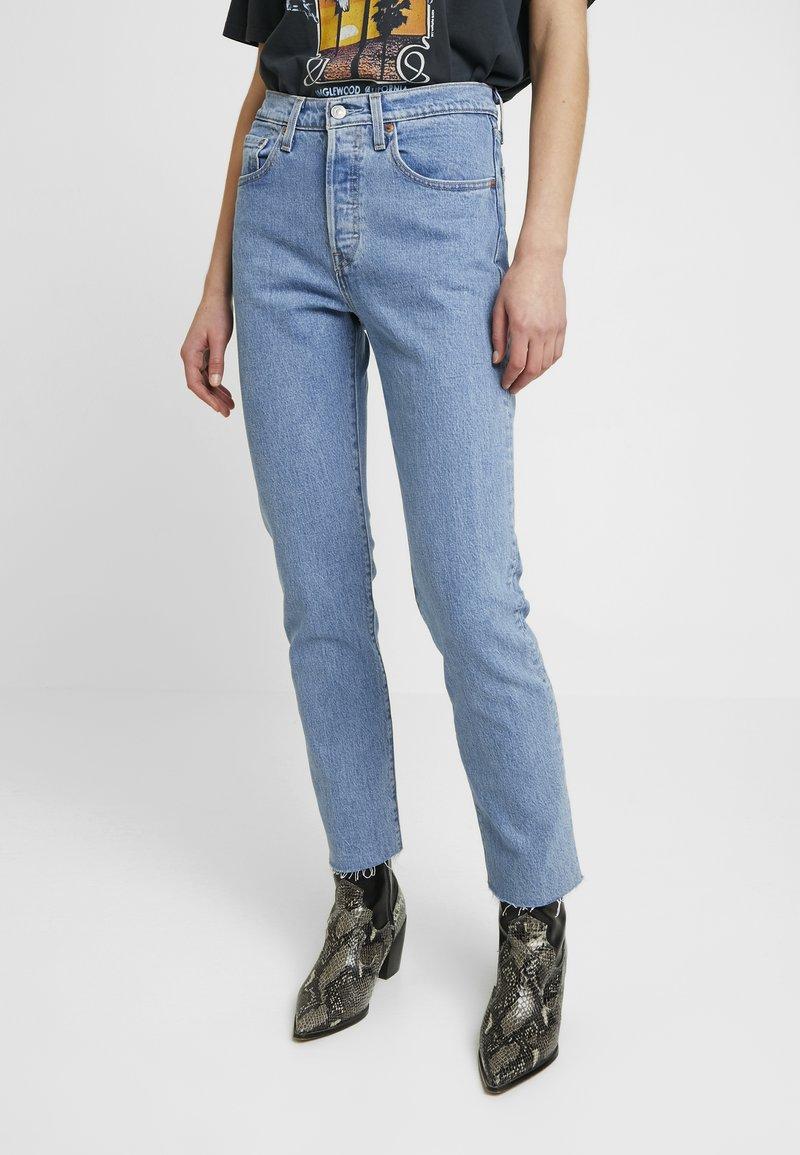 Levi's® - 501® CROP - Jeans Straight Leg - tango beats