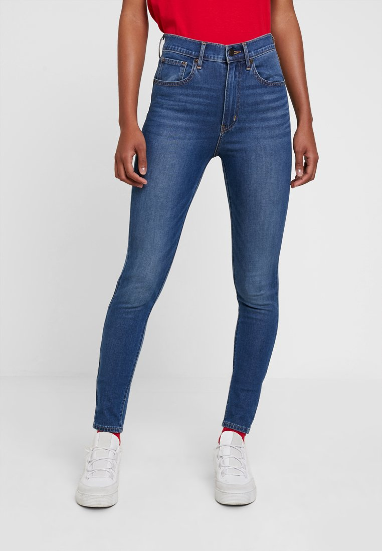Levi's® - MILE HIGH SUPER SKINNY - Jeansy Skinny Fit - on call