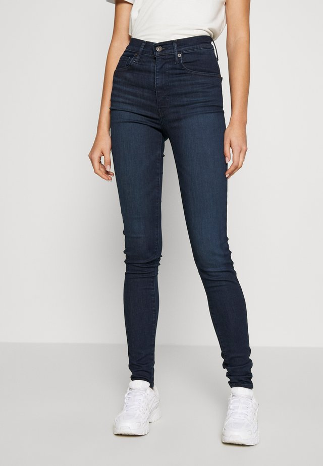 MILE HIGH SUPER SKINNY - Jeans Skinny Fit - echo darkness