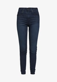 Levi's® - MILE HIGH SUPER SKINNY - Jeans Skinny Fit - echo darkness