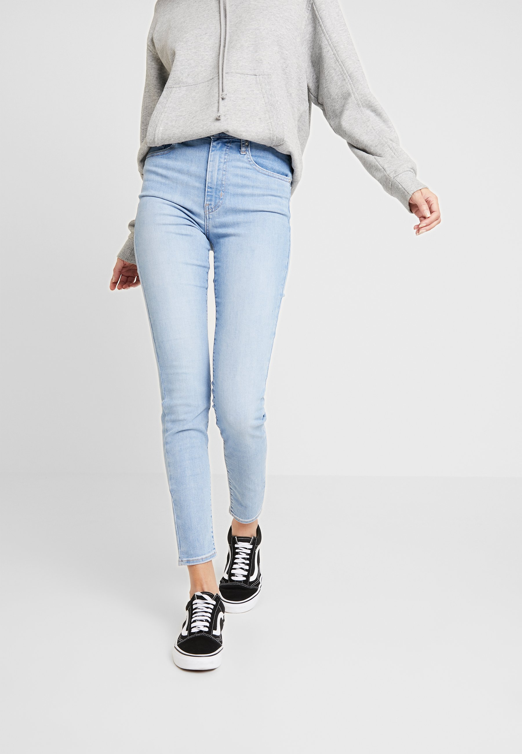 Levi's® MILE HIGH SUPER SKINNY - Jeansy Skinny Fit - between space and time