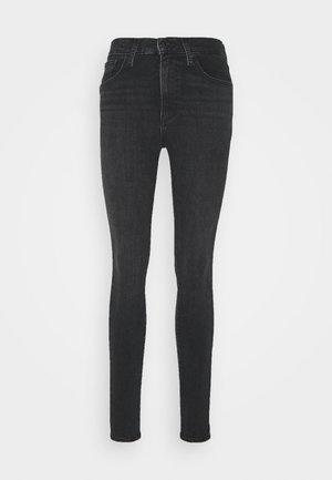 MILE HIGH SUPER SKINNY - Jeans Skinny - black haze