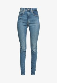 Levi's® - MILE HIGH SUPER SKINNY - Jeans Skinny Fit - light-blue denim