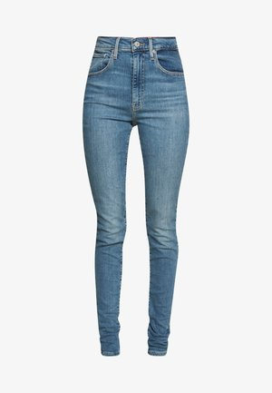 MILE HIGH SUPER SKINNY - Vaqueros pitillo - light-blue denim