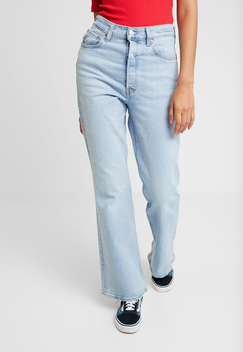 Levi's® - RIBCAGE FLARE - Trousers - tango light