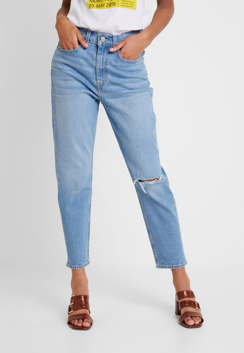 Levi's® - MOM JEAN - Vaqueros tapered - arctic waves