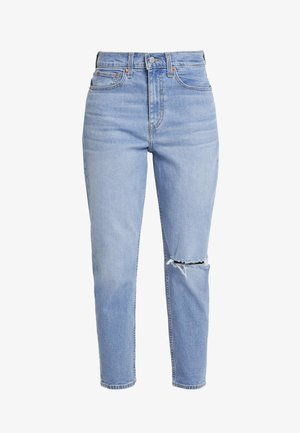 MOM JEAN - Jeans Tapered Fit - arctic waves