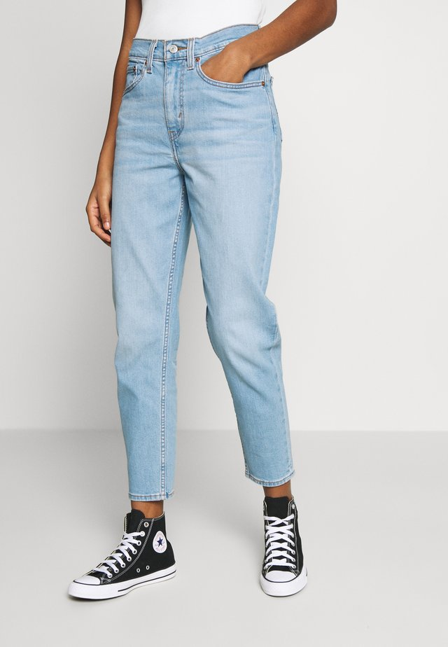 MOM JEAN - Jeans Tapered Fit - pacific lights