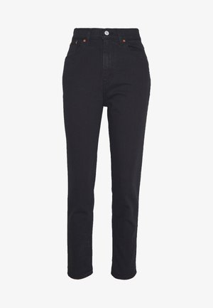 MOM JEAN - Tapered-Farkut - flash black