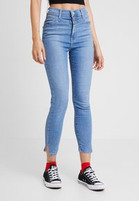 Levi's® - MILE HIGH ANKLE YOKE - Jeans Skinny Fit - off the map - 0