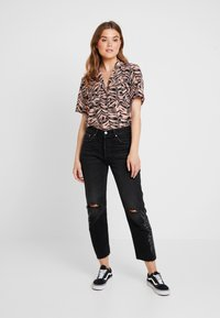 Levi's® - 501® CROP - Jeansy Straight Leg - black canyon - 1