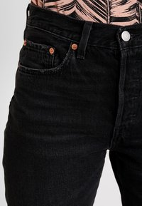 Levi's® - 501® CROP - Jeansy Straight Leg - black canyon - 5