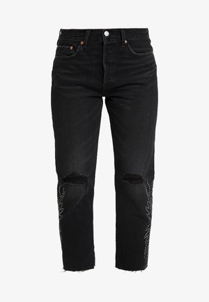 501® CROP - Straight leg jeans - black canyon