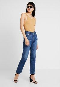 Levi's® - 501® CROP - Straight leg jeans - market vintage - 1