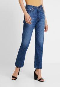 Levi's® - 501® CROP - Jean droit - market vintage - 2
