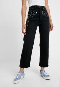 Levi's® - RIBCAGE ANKLE - Jeans straight leg - border town - 0