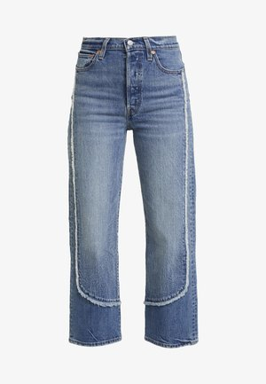 RIBCAGE ANKLE - Straight leg jeans - on the fringe