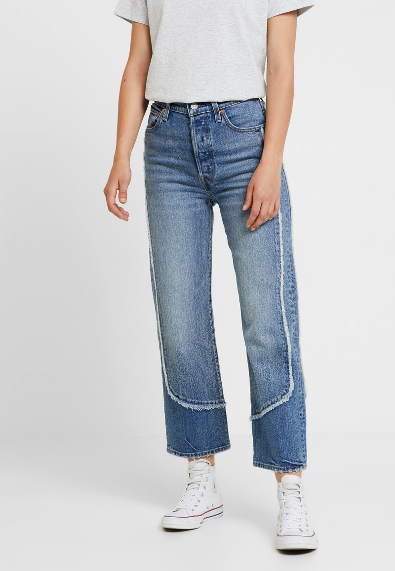 Levi's® - RIBCAGE ANKLE - Džíny Straight Fit - on the fringe
