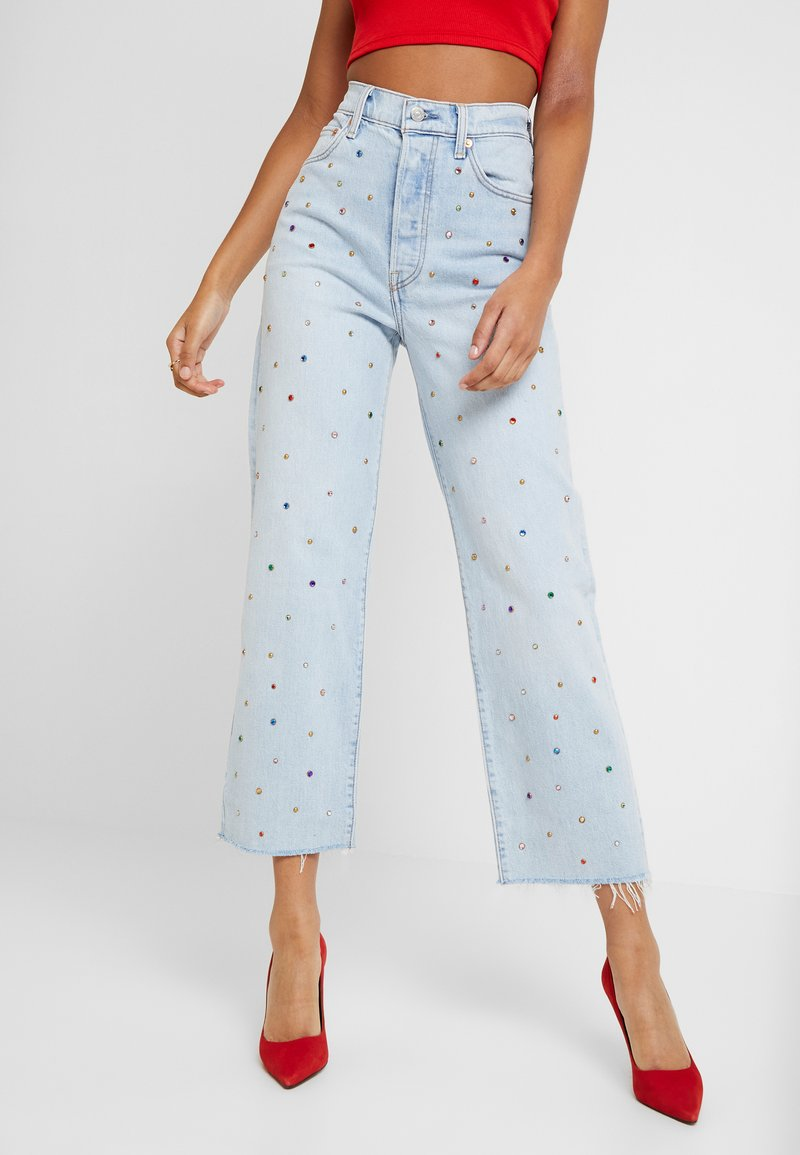 Levi's® - RIBCAGE ANKLE - Jeans Straight Leg - lucky sevens