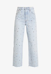 Levi's® - RIBCAGE ANKLE - Jeans Straight Leg - lucky sevens - 6