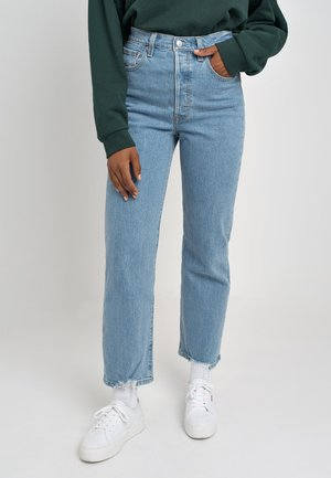 RIBCAGE STRAIGHT ANKLE - Straight leg jeans - tango chill