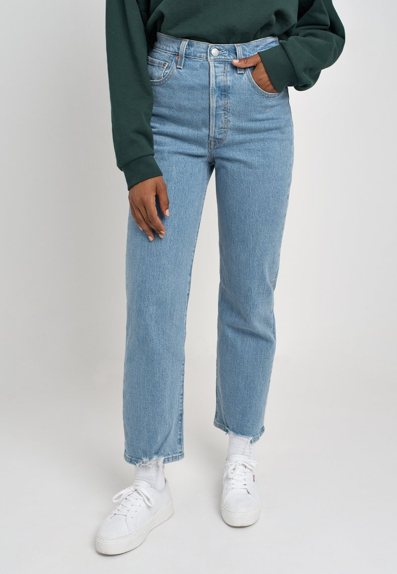 Levi's® - RIBCAGE STRAIGHT ANKLE - Jeans a sigaretta - tango chill