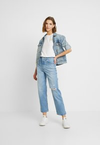 Levi's® - RIBCAGE STRAIGHT ANKLE - Straight leg jeans - tango fade - 1