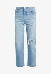 Levi's® - RIBCAGE STRAIGHT ANKLE - Straight leg jeans - tango fade - 4