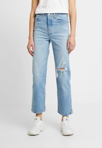 Levi's® - RIBCAGE STRAIGHT ANKLE - Straight leg jeans - tango fade - 0