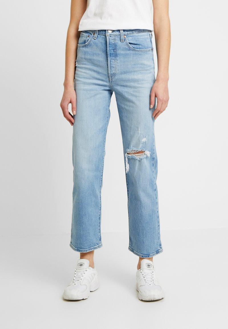 Levi's® - RIBCAGE STRAIGHT ANKLE - Straight leg jeans - tango fade