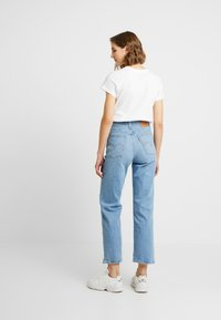 Levi's® - RIBCAGE STRAIGHT ANKLE - Jean droit - tango fade - 2