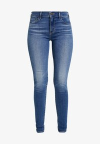Levi's® - 710 INNOVATION SUPER SKINNY - Vaqueros pitillo - powell face off - 3