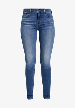 710 INNOVATION SUPER SKINNY - Jeansy Skinny Fit - powell face off
