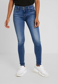 Levi's® - 710 INNOVATION SUPER SKINNY - Vaqueros pitillo - powell face off - 0