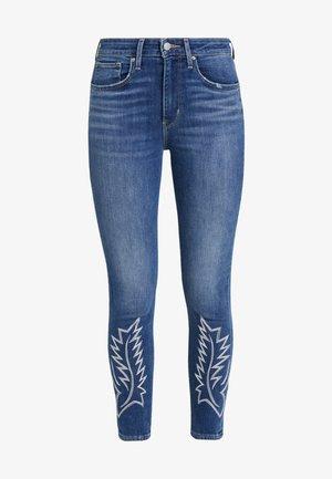721 HI RISE ANKLE - Jeans Skinny Fit - blue denim