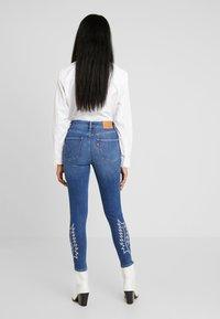 Levi's® - 721 HI RISE ANKLE - Jeans Skinny Fit - blue denim - 2