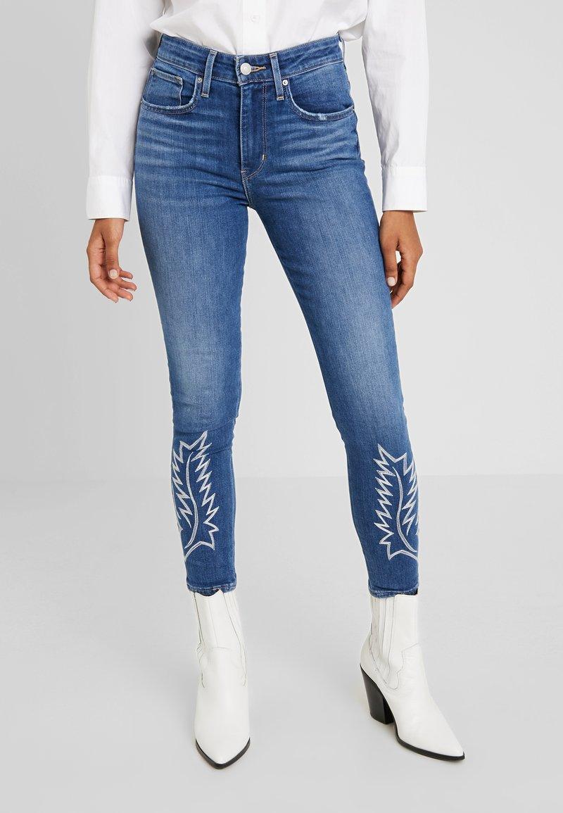 Levi's® - 721 HI RISE ANKLE - Jeans Skinny Fit - blue denim