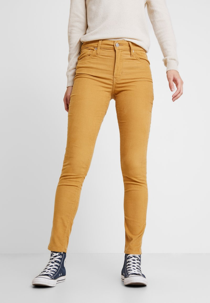 Levi's® - 721 HIGH RISE SKINNY - Jeans Skinny Fit - golden khaki luxe cord