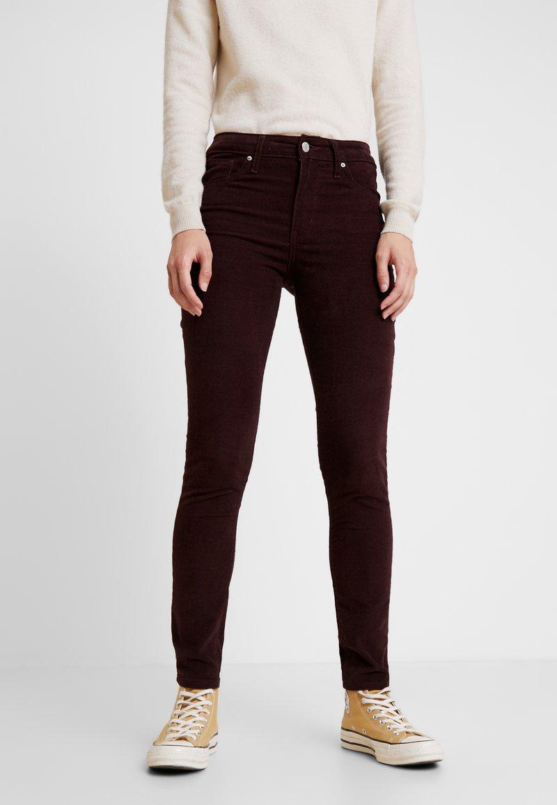 Levi's® - 721 HIGH RISE SKINNY - Skinny džíny - malbec luxe cord