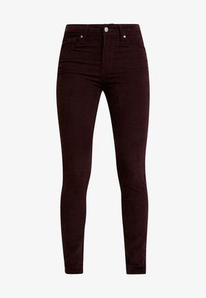 721 HIGH RISE SKINNY - Jeans Skinny Fit - malbec luxe cord