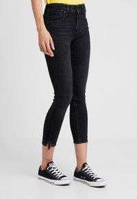 Levi's® - 721 HIRISE FRINGE ANKLE - Jeans Skinny Fit - don't give a fringe - 0